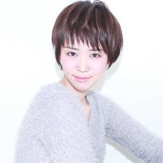前髪あり 外国人風 モード ショート ヘアスタイルや髪型の写真・画像 ヘアスタイルや髪型の写真・画像