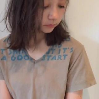 長澤 涼さんのヘアスナップ