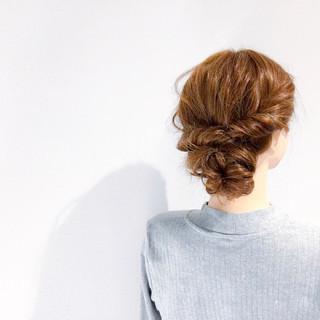 ヘアアレンジ アウトドア 結婚式 デート ヘアスタイルや髪型の写真・画像