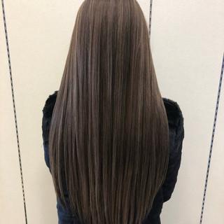 ロング インナーカラー グラデーションカラー ハイライト ヘアスタイルや髪型の写真・画像
