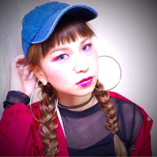 帽子をかぶってもおしゃれヘアはキープ☆キャップに似合うヘアアレンジはこれ!