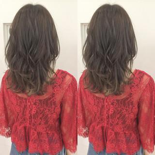 大人かわいい フェミニン 外国人風 デート ヘアスタイルや髪型の写真・画像