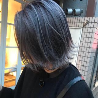 米島美咲さんのヘアスナップ
