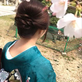 エレガントな着物姿にぴったり!訪問着におすすめのおしゃれな髪型特集