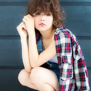 大人女子 フェミニン ゆるふわ モード ヘアスタイルや髪型の写真・画像