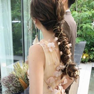 ゆるナチュラル 大人かわいい フェミニン ロング ヘアスタイルや髪型の写真・画像