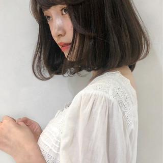 モテボブ 大人かわいい アンニュイほつれヘア フェミニン ヘアスタイルや髪型の写真・画像