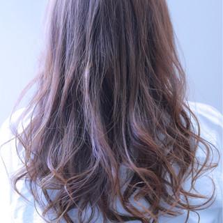 アンニュイ ロング 外国人風カラー ストリート ヘアスタイルや髪型の写真・画像
