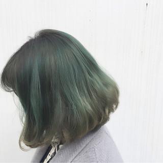 外国人風 グラデーションカラー 暗髪 ストリート ヘアスタイルや髪型の写真・画像