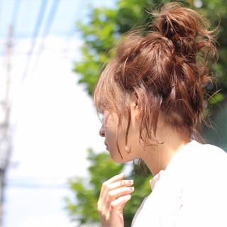 ヘアアレンジ 雨の日 デート ショート ヘアスタイルや髪型の写真・画像