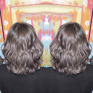 外国人風 ボブ ハイトーン モード ヘアスタイルや髪型の写真・画像
