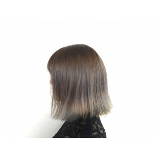 アッシュ 外国人風カラー グラデーションカラー ガーリー ヘアスタイルや髪型の写真・画像