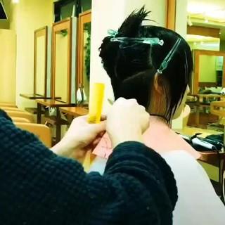 ボブ ショートボブ ショート ナチュラル ヘアスタイルや髪型の写真・画像