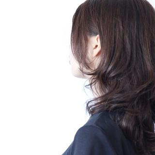 ネイビーアッシュ ネイビー ネイビーカラー ネイビーブルー ヘアスタイルや髪型の写真・画像