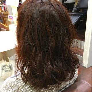 冬 色気 ゆるふわ 暗髪 ヘアスタイルや髪型の写真・画像 ヘアスタイルや髪型の写真・画像