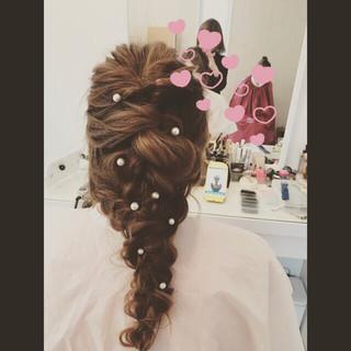 松田美友さんのヘアスナップ