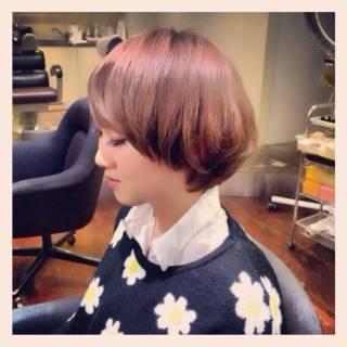 モード モテ髪 ストリート ショート ヘアスタイルや髪型の写真・画像