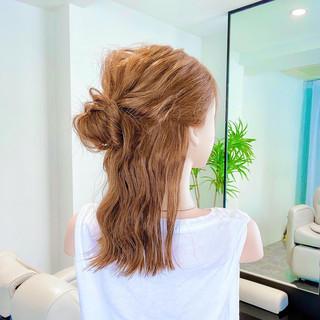 ロング お団子アレンジ ヘアアレンジ フェミニン ヘアスタイルや髪型の写真・画像 | 美容師HIRO/Amoute代表 / Amoute/アムティ