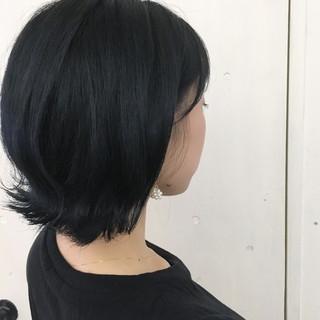 ブルージュ ブルー ネイビー ストリート ヘアスタイルや髪型の写真・画像