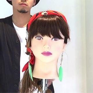 ヘアアレンジ デート ロング 上品 ヘアスタイルや髪型の写真・画像