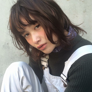 ゆるふわ ローライト ハイライト 大人かわいい ヘアスタイルや髪型の写真・画像