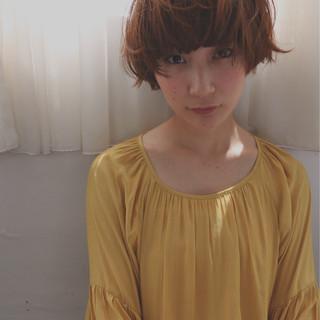 ショート 大人かわいい 外国人風 ストリート ヘアスタイルや髪型の写真・画像