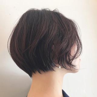 モード ボブ 色気 ナチュラル ヘアスタイルや髪型の写真・画像