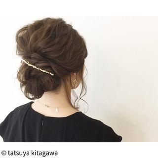 ヘアアレンジ 外国人風 結婚式 ロング ヘアスタイルや髪型の写真・画像