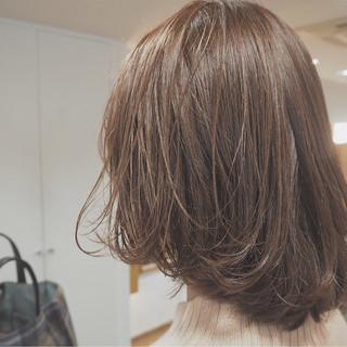 マッシュ ボブ 外国人風 イルミナカラー ヘアスタイルや髪型の写真・画像 ヘアスタイルや髪型の写真・画像