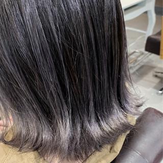 ナチュラル ブリーチ必須 バレイヤージュ 透明感カラー ヘアスタイルや髪型の写真・画像