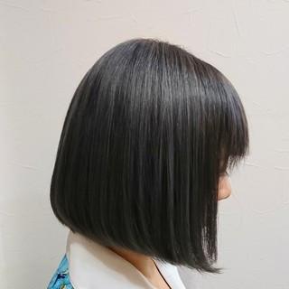 女子力 モード 透明感 黒髪 ヘアスタイルや髪型の写真・画像