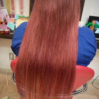 エクステ 外国人風 ハイトーン 女子会 ヘアスタイルや髪型の写真・画像