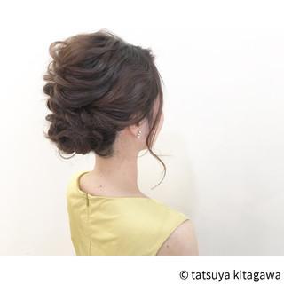 フェミニン ミディアム 外国人風 リラックス ヘアスタイルや髪型の写真・画像