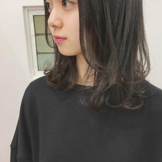 暗髪 大人かわいい ナチュラル 大人女子 ヘアスタイルや髪型の写真・画像
