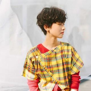 似合わせカット ショート PEEK-A-BOO 阿藤俊也 ヘアスタイルや髪型の写真・画像