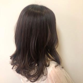 ミディアム オフィス 簡単ヘアアレンジ アンニュイほつれヘア ヘアスタイルや髪型の写真・画像