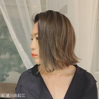 大人かわいい エレガント 外国人風 ボブ ヘアスタイルや髪型の写真・画像