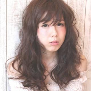 おフェロ シースルーバング 愛され 大人かわいい ヘアスタイルや髪型の写真・画像