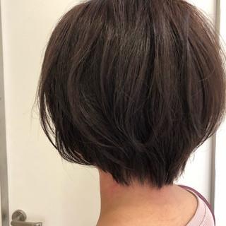 フェミニン ラベンダーピンク 秋 エフォートレス ヘアスタイルや髪型の写真・画像