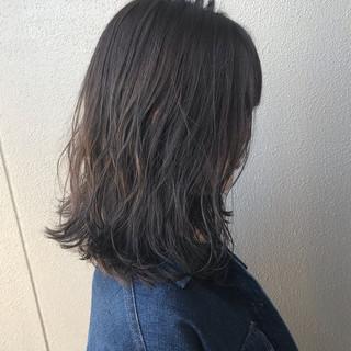 ゆるふわ グレージュ パーマ ナチュラル ヘアスタイルや髪型の写真・画像