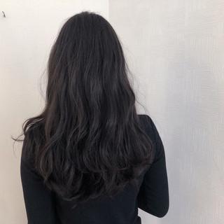 簡単ヘアアレンジ アンニュイほつれヘア ナチュラル ロング ヘアスタイルや髪型の写真・画像
