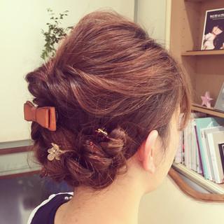ヘアアレンジ ショート ロング 大人かわいい ヘアスタイルや髪型の写真・画像