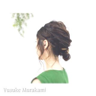 大人かわいい ミディアム 外国人風 ヘアアレンジ ヘアスタイルや髪型の写真・画像