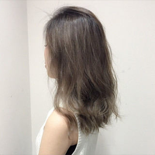 グラデーションカラー ハイライト 外国人風 ガーリー ヘアスタイルや髪型の写真・画像
