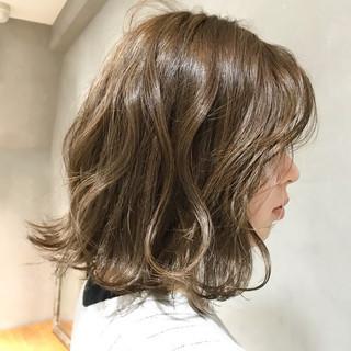 ゆるふわ 大人女子 アンニュイ ボブ ヘアスタイルや髪型の写真・画像