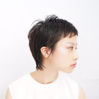 ナチュラル ショート ベリーショート 大人女子 ヘアスタイルや髪型の写真・画像