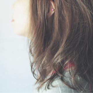 パーマ ナチュラル 大人かわいい 大人女子 ヘアスタイルや髪型の写真・画像