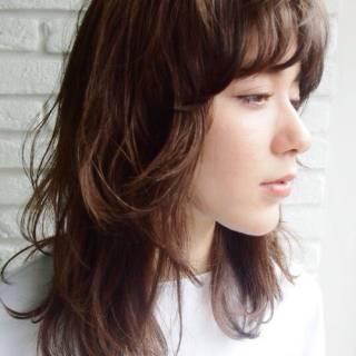 外国人風 ウェットヘア 春 ストリート ヘアスタイルや髪型の写真・画像