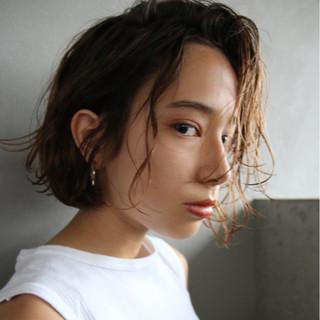 簡単 ナチュラル 外国人風 ボブ ヘアスタイルや髪型の写真・画像 ヘアスタイルや髪型の写真・画像