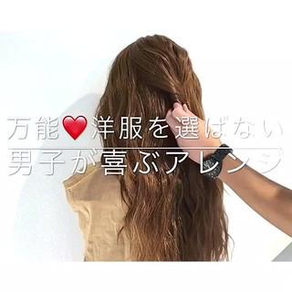 色気 涼しげ ヘアアレンジ エレガント ヘアスタイルや髪型の写真・画像